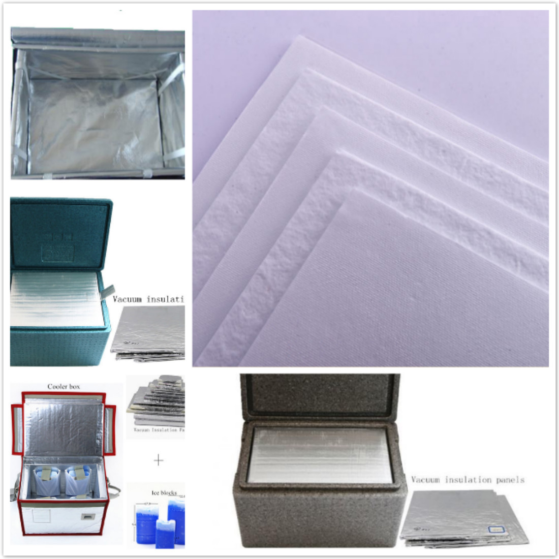 Glass Microfiber Thermal Insulation Panel USE