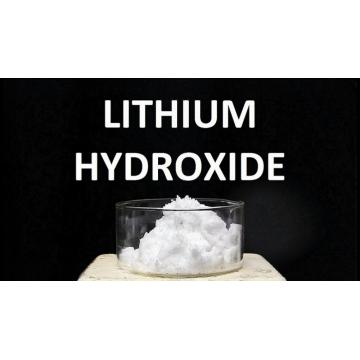 lithium hydroxide reacts with hydrochloric acid
