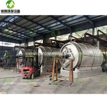 Fully Continuous Waste Tyre Pyrolysis Plant for sale