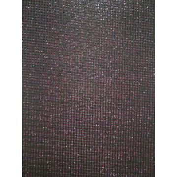 Glitter flash material leather