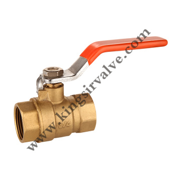 Internal screw ball valve