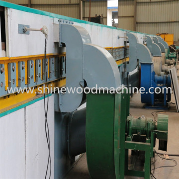 Plywood Core Veneer Drying Equipment