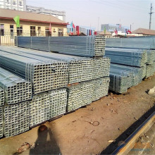 hollow section q195 q235 galvanized square steel pipe