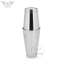 550mm +750ml Stainless Steel Boston Cocktail Shaker Set