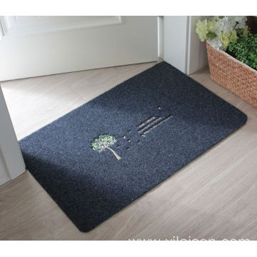 Professional anti slippery entrance decorative red carpet
