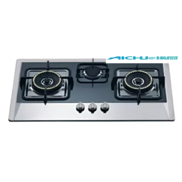 3 Burners Stainless Steel Infrated Lighter Gas Stove