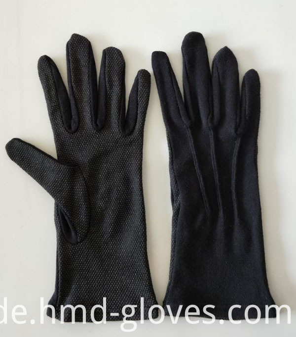 Long Wrist Cotton Sure Grip Marching Band Gloves