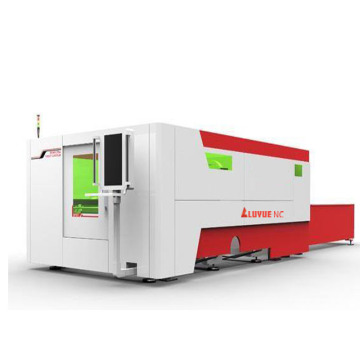 Enclosed Sealed Fiber Laser Cutting Machine