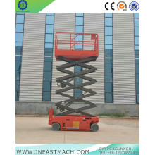 China for Scissor Lift Rental,Scissor Lift Hire,Electric Scissor Lift Manufacturers and Suppliers in China 10m Factory Price Self-propelled Scissor Lift Platform export to Mongolia Importers
