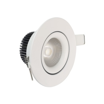 8W anti-glare dimmable led downlight