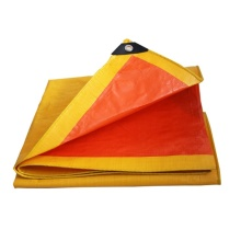 Europe style for Tarpaulin Fabric Yellow Tear Proof Tarpaulin Ground sheet supply to India Exporter