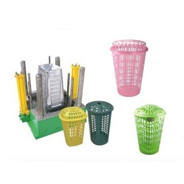 Different Kinds of Plastic Basket Injection Moulds
