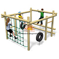 Equipment Kids Net Climbing Outdoor Playground Game