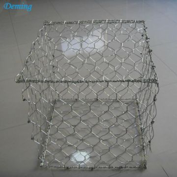Hot Dip Galvanized Woven Gabion with Hexagonal Shape
