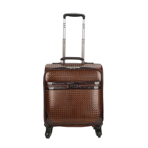 Massive Selection for  Brown PU animal skin boarding luggage export to Kuwait Supplier
