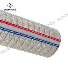 China for PVC Steel Wire Hose PVC spiral steel wire reinforced hose export to Netherlands Factory