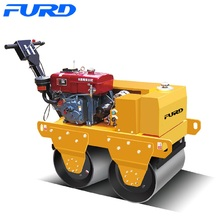 High Quality for Walk-Behind Double Drum Roller Fast Delivery Baby Road Roller Compactor for Sale export to Ghana Factories