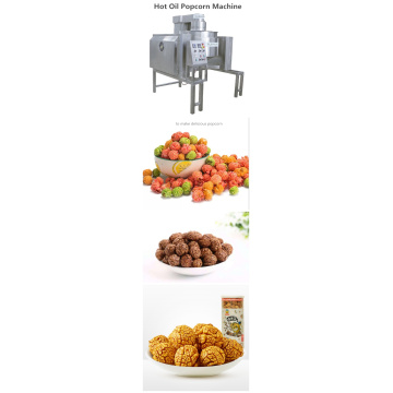 Rainbow popcorn making machine for industrial use