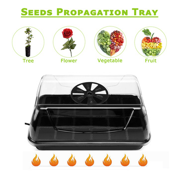 Seed Heat Tray Starter Kit Greenhouse