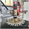 Round-type ATC wood router cnc