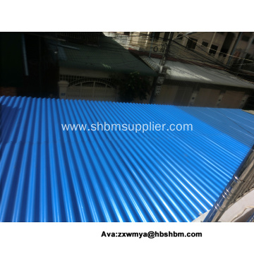 MGO Anti-corosion Fireproof Roofing Sheets For Workshop