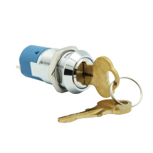 UL Double Reset Momentary Electric 19MM Key Switches