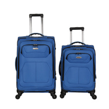 Fashion Canvas Fabric Trolley Travel Luggage Wheeled Luggage