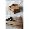 Solid Wooden Antique Storage Box
