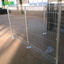 Galvanised Roll Top BRC Wire Mesh DD-Fence Panel