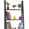 2 Piece Jasper Leaning Bookcase Ladder and Room Organizer Engineered Wood Wall Shelf
