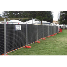 outdoor construction temporary fence
