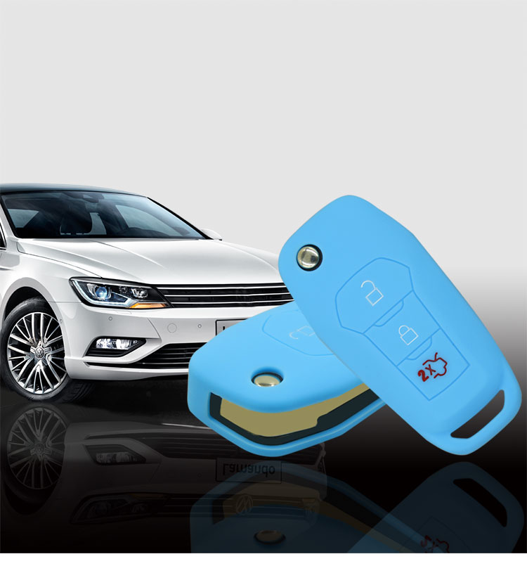 Mondeo Silicone car key case protector
