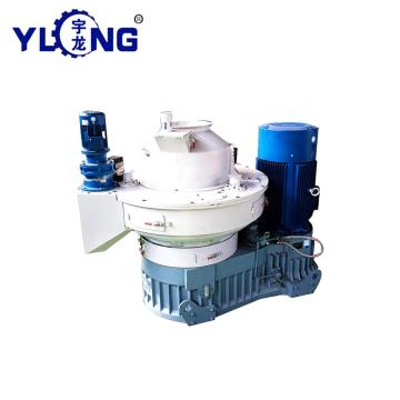 Sugar cane bagasse pellet machine