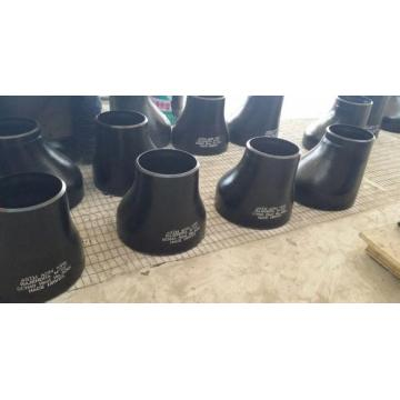 ASME B16.9 standard carbon steel concentric seam reducer
