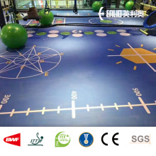 China Manufacturer for for Vinyl Gym Room Sports Flooring 3D customzied vinyl flooring supply to France Factories