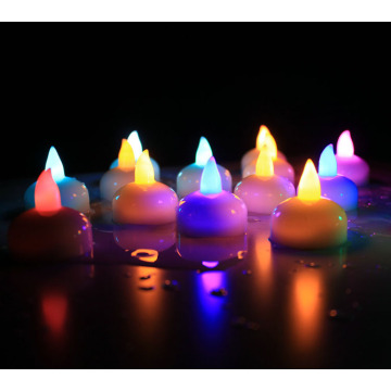 Hot sale high quality colorful floating led candle