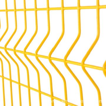 3D curved welded wire mesh panel fence