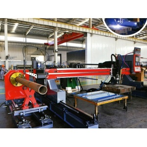 Cutting Combination Machine for Bamboo Plate and Steel