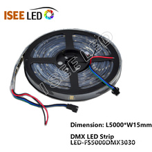 Popular Design for Dmx Controlled Led Strip DMX 30pixel Per Meter Led Flex Strip Light supply to Italy Importers