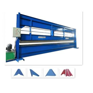 Steel roof bending roll forming machine