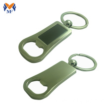 Customized for Custom Bottle Opener Keychain Metal keychain ring bottle opener personalized supply to China Hong Kong Wholesale