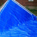 Brown PE Tarpaulin Sheet Light Weight