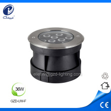 Stainless steel housing 36W underwater led pool light