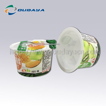 80g IML Pudding cup with heat seal film