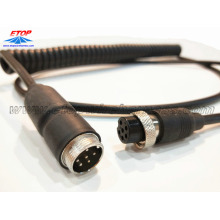 M12 molded corly cable assembly