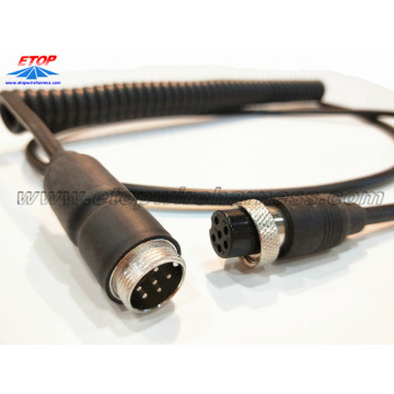 Good Quality for waterproofing cables overmolding M12 molded corly cable assembly supply to Russian Federation Importers