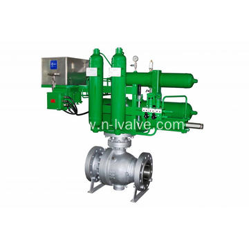Pneumatic Actuated Trunnion Mounted Ball Valve
