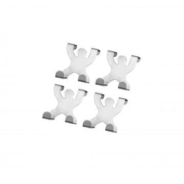 over the cabinet door hooks set/4