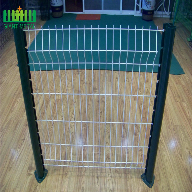 Factory Black Welded Wire Mesh Fence Panel Prices