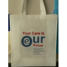 60g-90g high quality white non woven advertising bag